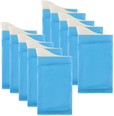 10X Disposable Urine Bags Tongshop Camping Travel Pee Bags for Men Women 600ml